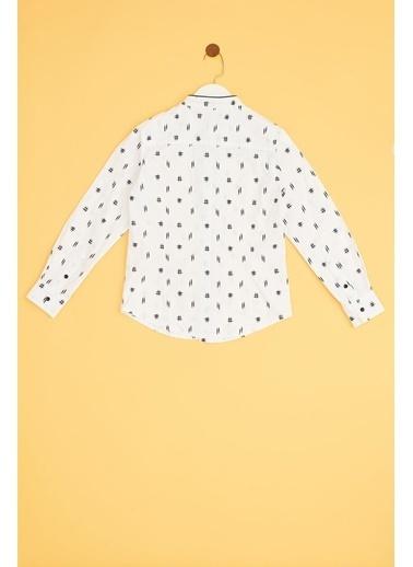 Nebbati Erkek Çocuk Desenli Gömlek 19SS2NB3616 Renkli